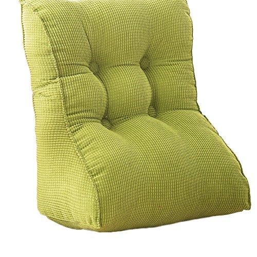 ZWL Triangle Canapé Coussin, couvre-chevelure Cache tactile Soft Roll Big Oreiller Chaise de bureau Dossier Tournure Chambre Oreiller couché Oreiller, 45-55cm mode z ( Couleur : #2 , taille : 45*55*30CM )