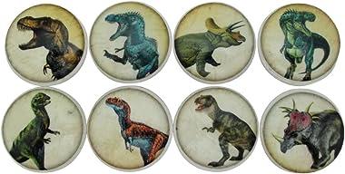Set of 8 Dinosaur Cabinet Knobs (Dinosaur Knobs)
