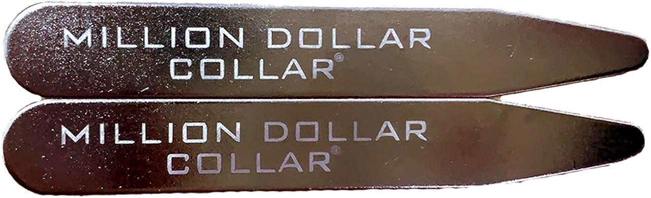 Million Dollar Collar - Metal Collar Stays - 2 Sets