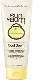 Sun Bum Cool Down Hydrating After Sun Lotion with Hydrating Aloe,Cocoa Butter and Vitamin E