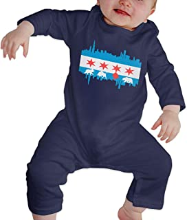 AMSKY Baby Clothes Unisex,Newborn Infant Baby Boy Girl Knitted Winter Romper Jumpsuit Outfits Clothes,Baby Girls One-Piece Footies,Blue,80