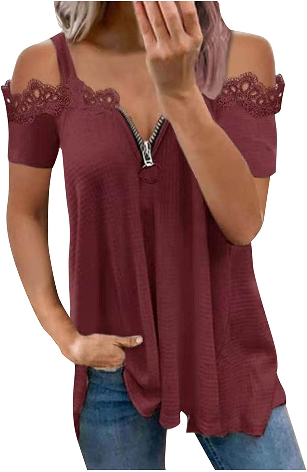 Sayhi Fashion Women Plus Size Printed Limited price Max 44% OFF Blouse O-Neck Short Sleeve