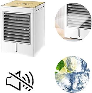 ZXYY Acondicionador de Aire frío Mini Ventilador de Escritorio portátil Aerosol Personal Enfriador de Aire evaporativo Humidificador de circulación Dormitorio de la Oficina