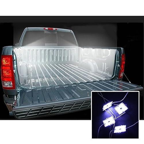 Large Truck Bed Lighting Light Kit 32 WHITE LED for  Ford Toyota Nissan Dodge