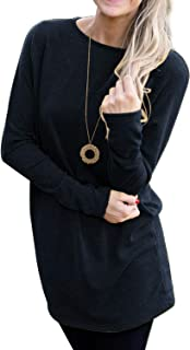 Donna lunghi shirts grandi dimensioni 46 48 50 52 54 BLUSA T SHIRT MISURE GRANDI OVERSIZE