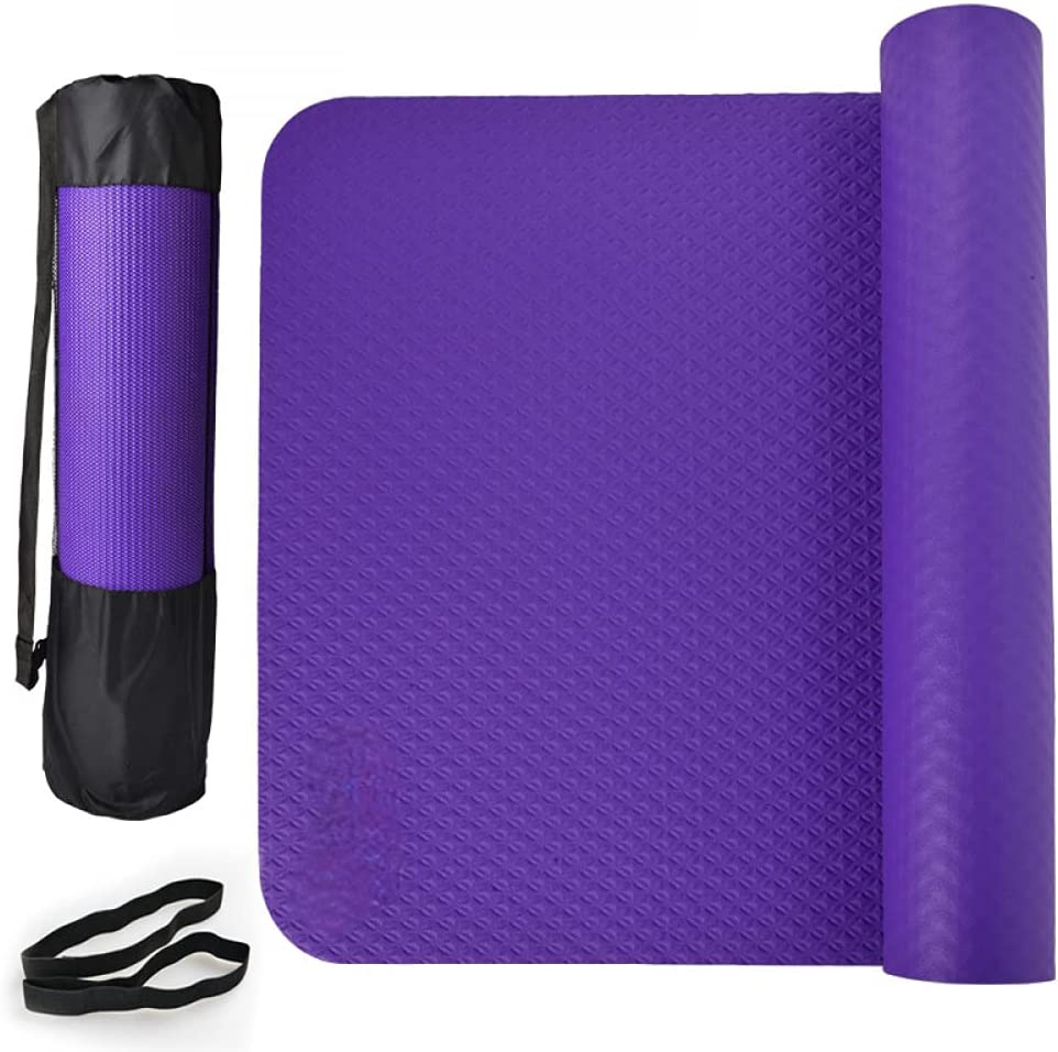 Yoga Mat 5mm Thick Eco Supp for Friendly Ranking Superior TOP10 Cushioning Dense