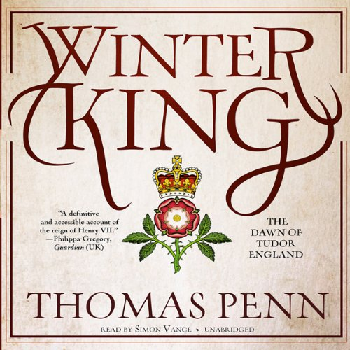 Winter King audiobook cover art