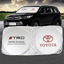 AutoTech Zone Sunshade for 2020 Toyota Corolla Sedan Custom-fit Windshield Sun Shade