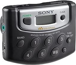 Sony Walkman Digital Tuning Portable Palm Size AM/FM Stereo Radio includes Sony MDR Stereo Headphones (Black)