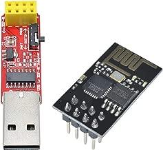DC 3.3V Wireless CH340 CH340G USB to ESP8266 ESP-01 Adapter USB to TTL Driver Serial + ESP01 ESP-01 ESP-01S Serial WiFi Transceiver Module for Arduino