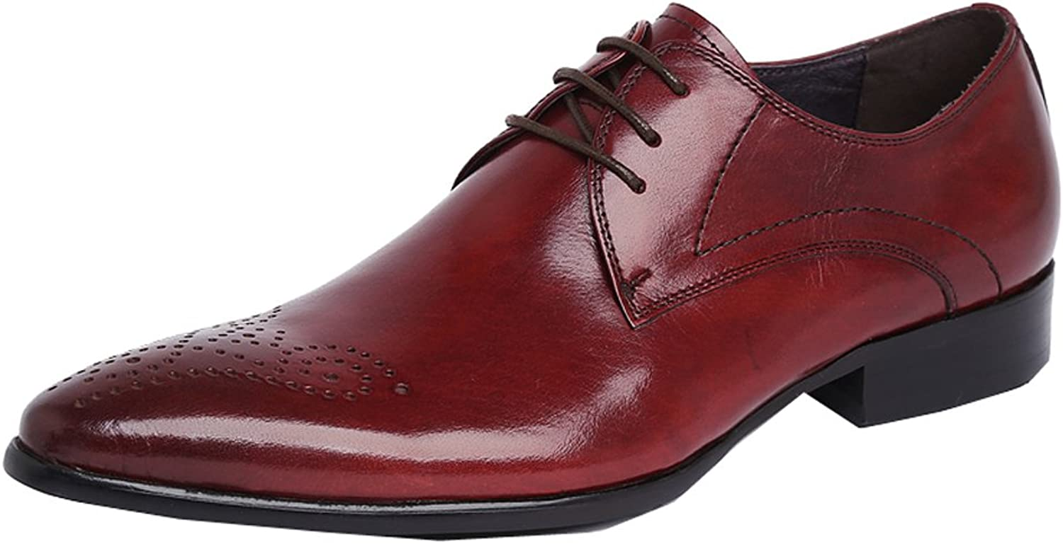 UNbox Mens Spring Footwear Lace up Oxford shoes in Leather
