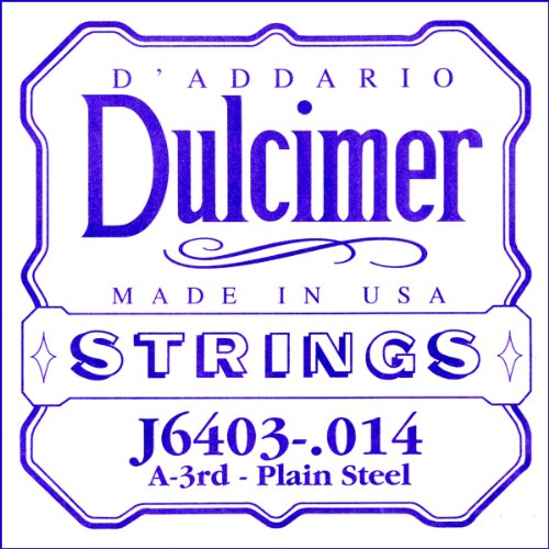 D'Addario J6403, cuerda individual de acero liso para