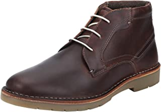 Red Tape Men's Rte1532 Leather Boots