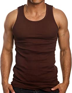 Best brown tank top mens Reviews