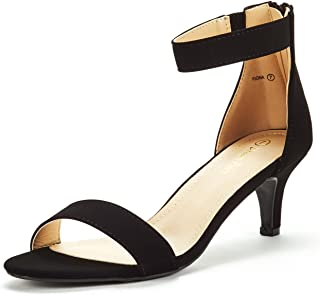 Women's Fiona Fashion Stilettos Open Toe Pump Heeled Sandals