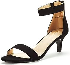 DREAM PAIRS Women's Fiona Fashion Stilettos Open Toe Pump Heeled Sandals