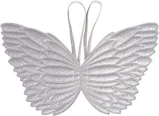 silver butterfly wings
