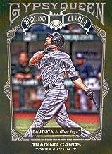 2011 Topps Gypsy Queen Home Run Heroes #HH3 Jose Bautista Toronto Blue Jays MLB Baseball Card NM-MT