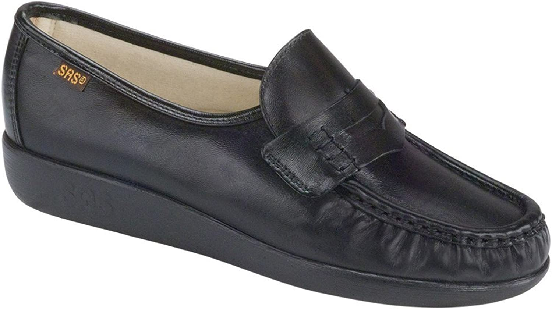 SAS damen& 39;s Classic Slip on Comfort Walking schuhe schwarz