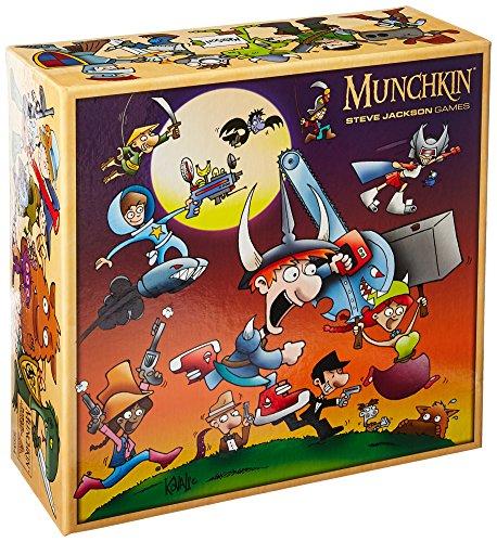Steve Jackson Games sjg05594–Juego de Cartas Munchkin Monster Caja