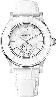 ساعة رسمية انالوج للنساء بسوار جلد من سواروفسكي - 1181757