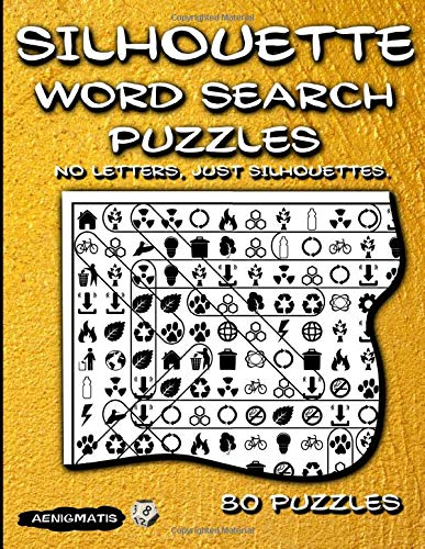 Silhouette Word Search Puzzles: No Letters, Just Silhouettes.