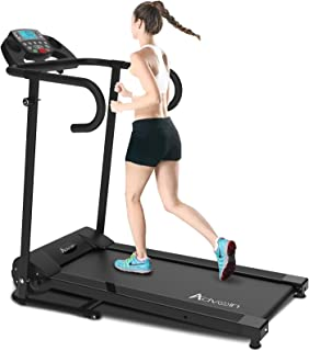 Advwin Electric Treadmill Motorised Running Exercise Machine Home Gym Incline Run Exercise Machine Folding Design Powerful...