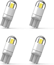 194 LED Bulb 3030 Chipset T10 194 168 SMD W5W LED Wedge Light 1.5W 12V License Plate Light Courtesy Step Light Turn Light Signal Light Trunk Lamp Clearance Lights (4pcs/pack)