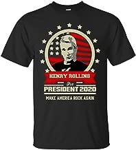Henry Rollins for President 2020 Make America Rock Again T-Shirt
