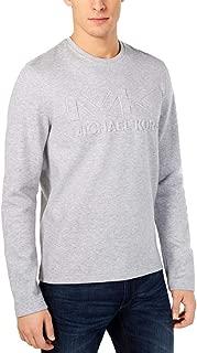 Michael Kors Mens Crewneck Logo Sweatshirt