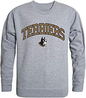 Wofford College Campus Crewneck Pullover Sweatshirt Sweater Heather Grey