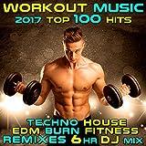 Workout Music 2017 Top 100 Hits Techno House Edm Burn Fitness Remixes (2hr DJ Mix)