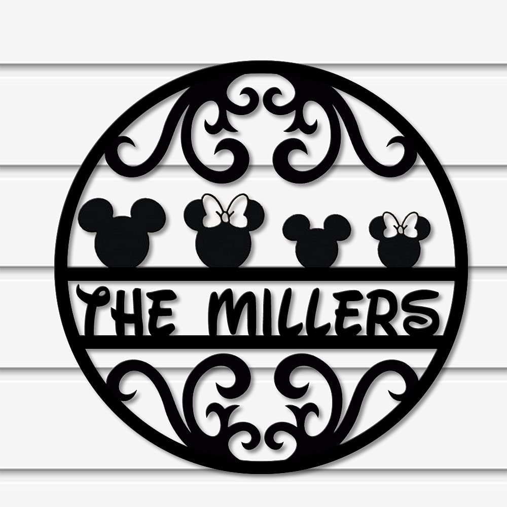 trust Disney Metal Rare Sign - Head Millers Micky Kids