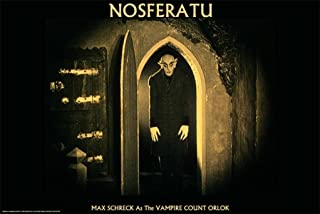 Studio B Nosferatu Movie Max Schreck as The Vampire Count Orlok Poster Print - 24x36