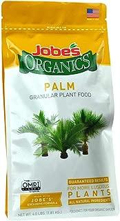 Jobe's Organics 09126 Palm Tree Granular Plant Food, 4 lb