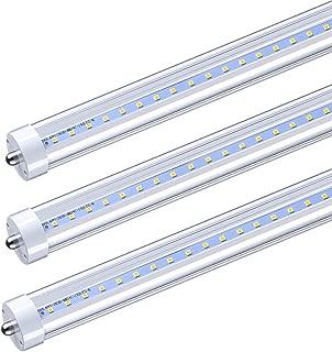 CNSUNWAY LIGHTING 8FT LED Tube Lights, 96