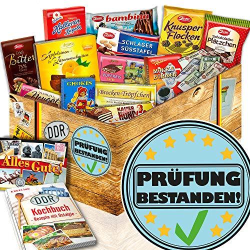 Prüfung bestanden / Abschlussprüfung Geschenk / Schoko DDR Geschenkbox