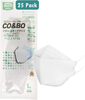 [Pack of 25] CO&BO Well-Being Hygiene KF94 Face Masks WK-950 [Individually Packaged] - Made In Korea