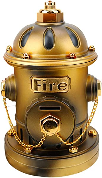 Philohewen Fire Hydrant Piggy Bank Music Box Musical Utensil Christmas Birthday Holiday Easter Gift