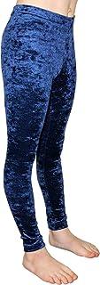 GymStern Mallas deportivas Crash de terciopelo, bielásticas, adecuadas para niños, mallas de cadera, cintura normal