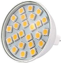 X-DREE MR16 SMD5050 24LEDs Aluminum Energy Saving LED Lamp Bulb Warm White AC 220V 3W(MR16 SMD5050 Lampada a LED 24LEDs in...