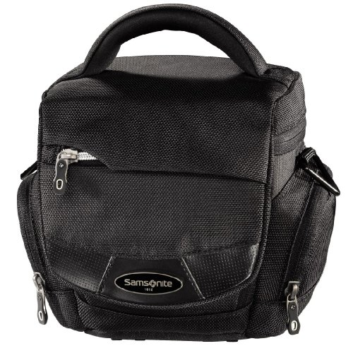 "Samsonite""Trekking DLX 100 Colt"" Camera Bag - Funda (Negro, 470 g, 135 x 95 x 140 mm)"