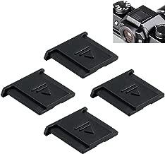 4Pcs Snugly Fit Hot Shoe Cover Protector Cap for Fuji Fujifilm Camera X-T3 X100F X100T X100S X-T100 GFX 50S 50R X-H1 X-Pro2 X-Pro1 X-T2 X-T1 X-T20 X-T10 X-E3 X-E2S X-E2 X-E1 X-A5 X-A3 X-A2 X-A1 X70