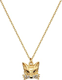So Foxy Fox Mini Pendant Necklace