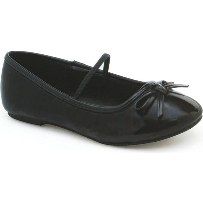 大理石序文胴体Ellie Shoes E-013-Ballet 0 Heel Ballet Slipper Childrens