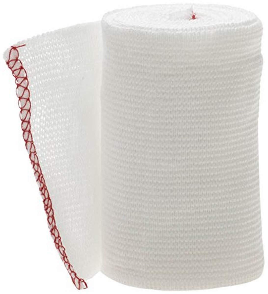 "Medline MDS077003Z Swift-Wrap Elastic Bandages, Latex Free, Non Sterile, 3"" x 5 yard, White (Pack of 20) : Health & Household"