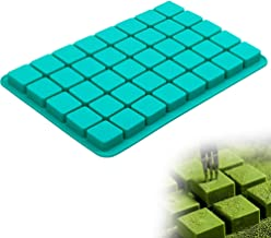 Square Silicone Candy Molds, 40-Cavity Caramel Chocolate Mold for Brownie, Truffles Chocolate, Ganache, Jelly and Pralines...