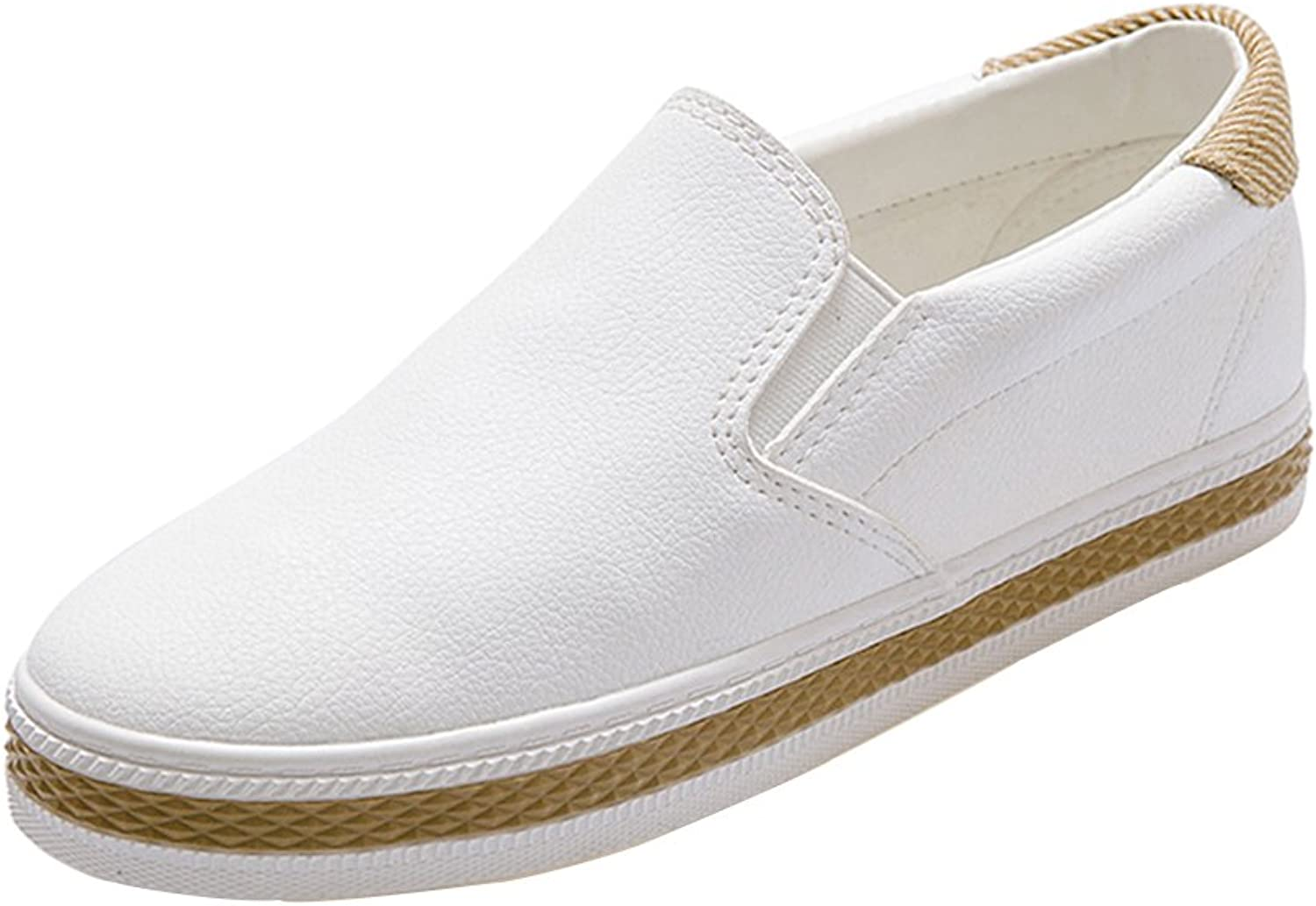 Kyle Walsh Pa Women's Classic Slip On Sneakers Platform Casual Loafers