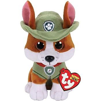 Ty Paw Patrol Tracker Cane Peluches Giocattolo 524, Multicolore, 8421412990