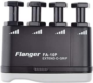 Flanger Adjustable Finger Strengthener Hand Exerciser FA-10P Extendable Finger Exerciser for Bass Guitar Piano Players